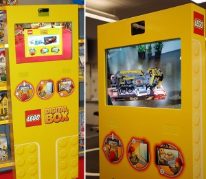 Lego's Augmented Reality Point of Sale un its